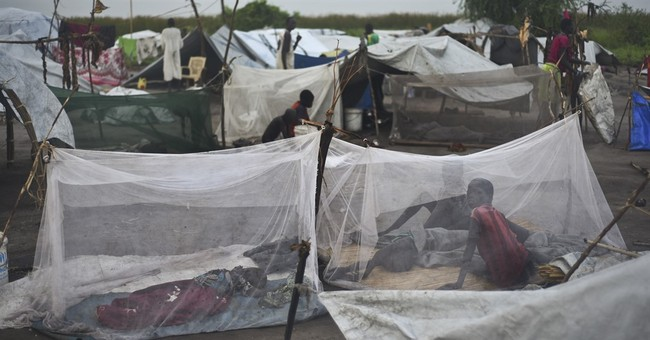Tiny South Sudan island is refuge for terrified families