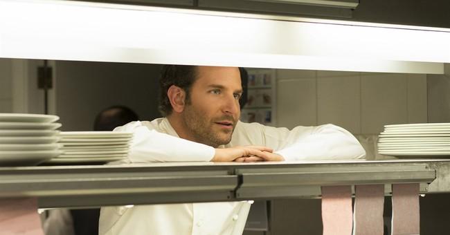 Bradley Cooper rolls up his sleeves for 'Burnt'