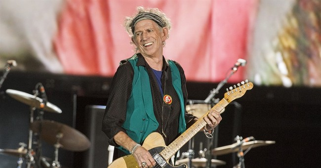 Keith Richards joins all-star gathering at Apollo Theater