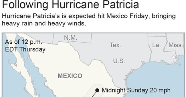 The Latest: Hurricane Patricia fades to tropical depression