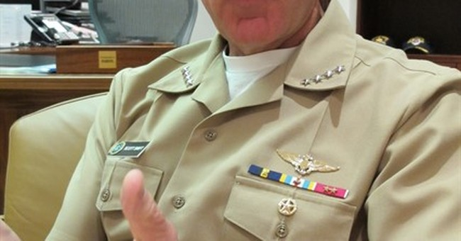 US admiral: Policymakers to decide South China Sea patrols