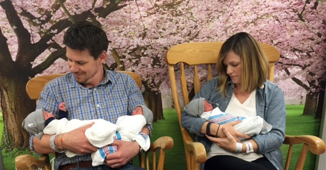 3 of a kind: Rare identical triplets born in Baltimore