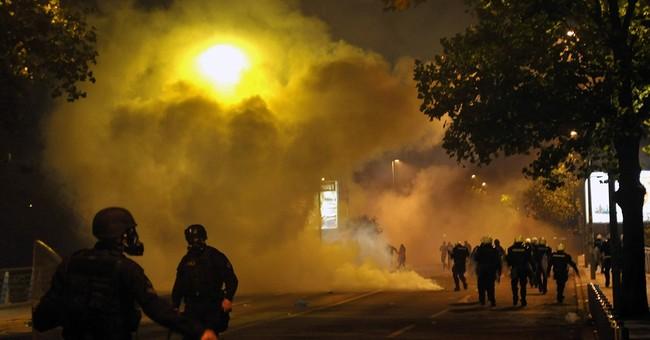 Montenegro police throw tear gas on protest