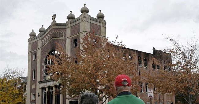 Fire that destroyed synagogue appears to be accidental