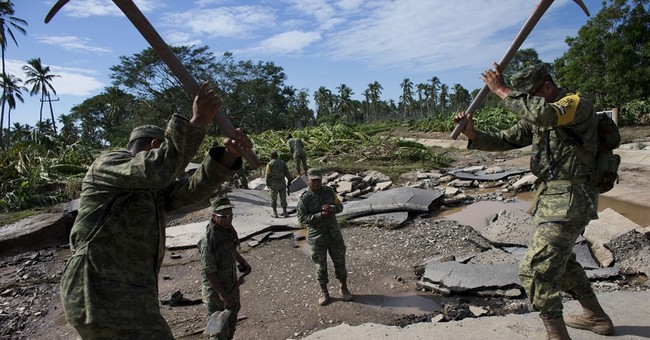 Pacific coast area hardest hit by Patricia begins to dig out