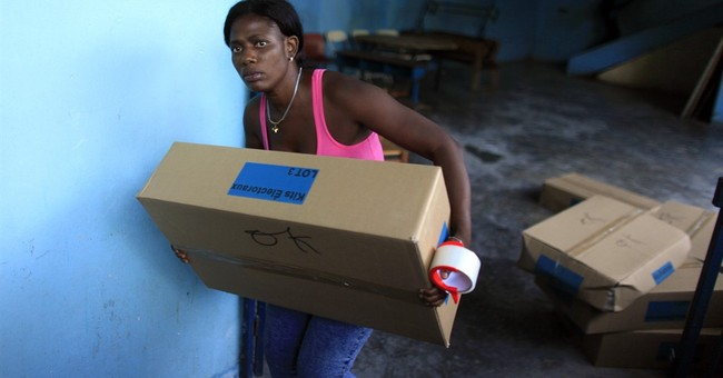 Polarized Haiti votes in tense presidential election