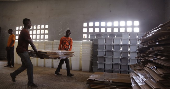 Ivory Coast votes in 1st post-violence election