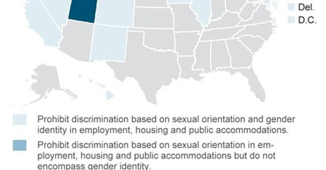 A look at state laws addressing LGBT nondiscrimination