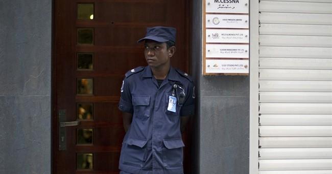 Maldives leader says VP's arrest over boat blast 'not easy'