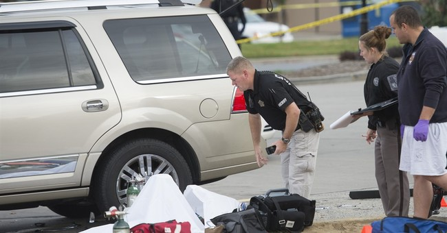 Correction: Gas Station-Police Shooting story