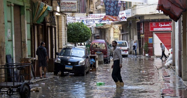 Governor of Egypt's 2nd largest city resigns over flooding