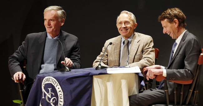 Souter, Gregg discuss civics as part of primary project