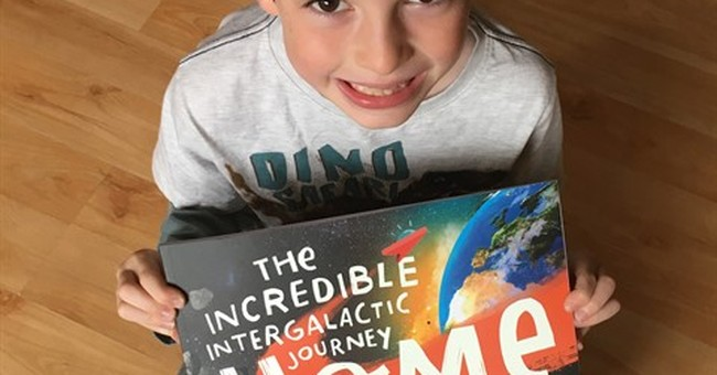 Story Time from Space: Astronauts getting new picture books