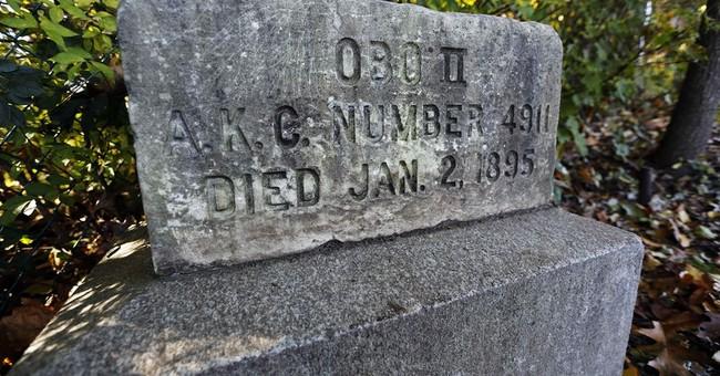 School on historic register boasts prominent pup's gravesite