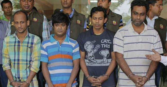 Bangladesh police arrest 4 in killing of Italian aid worker