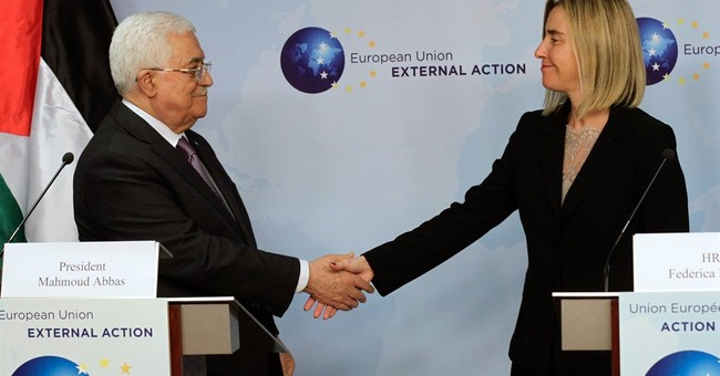 Palestinian leader seeks EU help to ease crisis with Israel