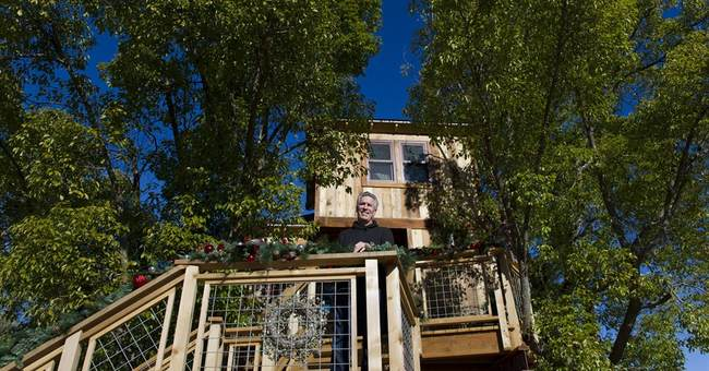 Officials tell family to scale back luxe treehouse