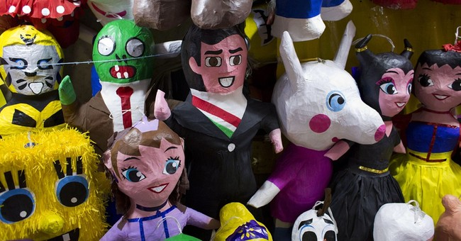 AP PHOTOS: Pinata-making art lives on in Mexican family