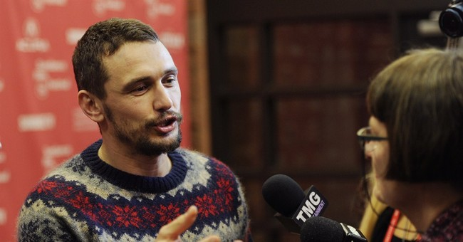 "James Franco tries to move beyond ""The Interview"""