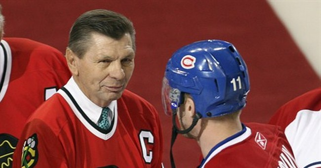 Blackhawks Hall of Famer Stan Mikita has brain disorder