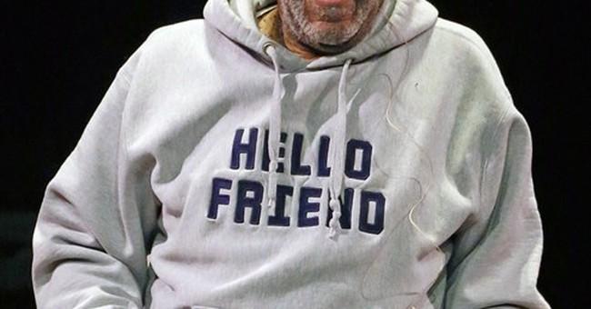 Bill Cosby's show in Ohio draws a few protesters
