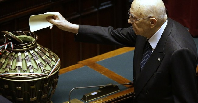 Italy tries anew to elect president amid political wrangling