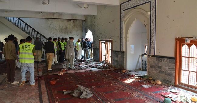 Bomb blast at Shiite Muslim mosque in Pakistan kills 56