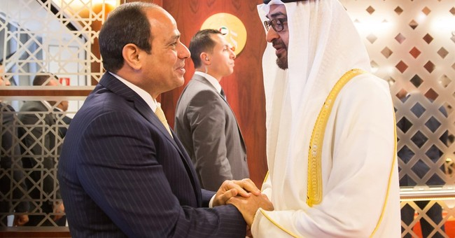 Egypt's president visits the United Arab Emirates for talks