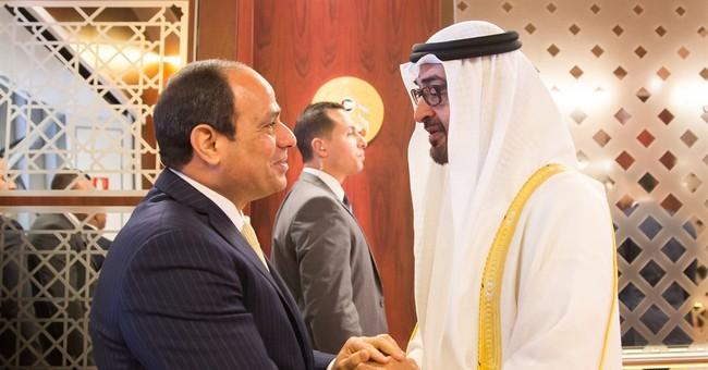 Egypt's president visits the United Arab Emirates for talks