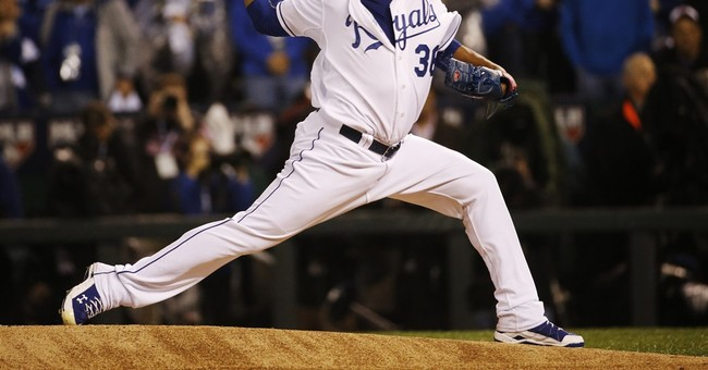 Royals' rotation puts the 'world' in the World Series