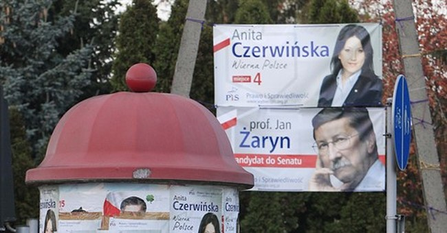 Poland's Law and Justice party gains majority in parliament