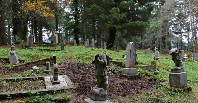 Vandals hit old Alaska cemetery 3rd time in recent weeks