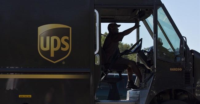 UPS tops 3Q profit forecasts despite dip in revenue