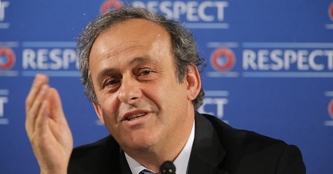 Including Platini, FIFA accepts 7 in presidential race