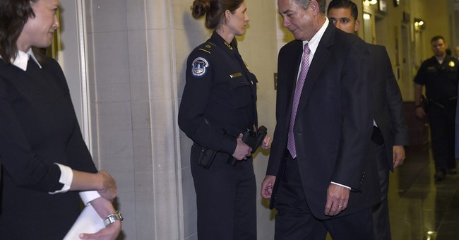 Boehner voices few regrets, no second thoughts on way out