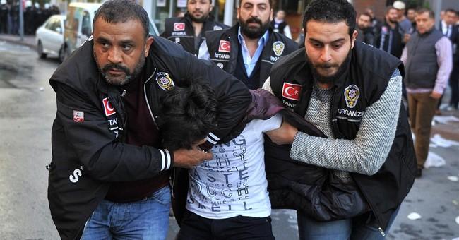 Turkish police raid media company tied to US-based cleric
