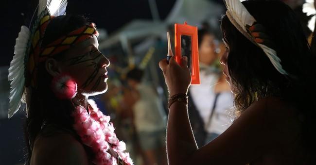 Brazil 'beauty parade' celebrates indigenous women