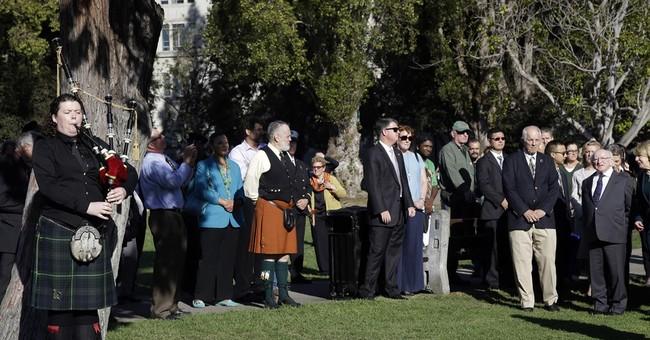 Irish leader visits California to honor balcony victims