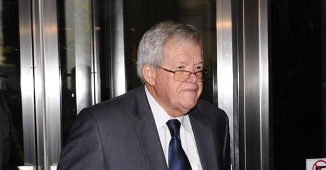 Dennis Hastert pleads guilty, acknowledges hush-money scheme