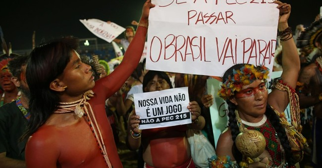 Protest erupts during World Indigenous Games in Brazil