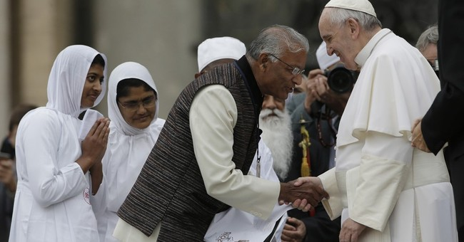 Pope urges religious collaboration in marking anniversary