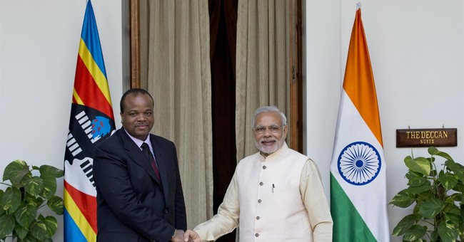 India woos Africa with aid, technology as China looms large
