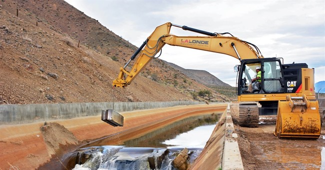 LA Aqueduct flows after dam built for drought is dismantled