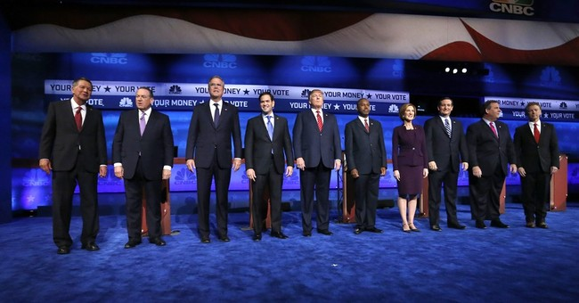 The Latest: Up-to-the-minute news on GOP presidential debate