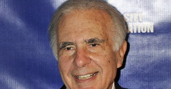 Icahn says AIG 'too big to succeed,' urges a break up