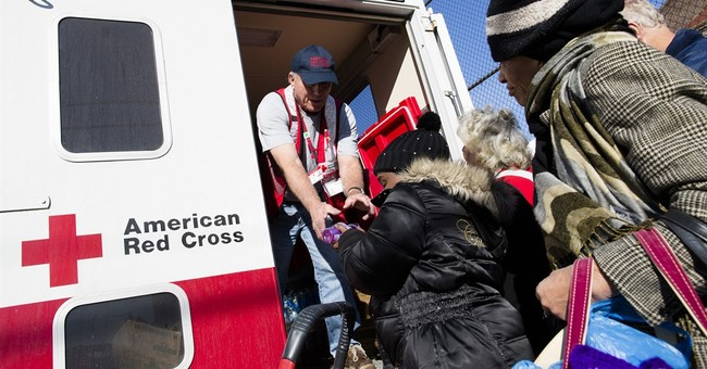 After Superstorm Sandy surge, donations to Red Cross drop