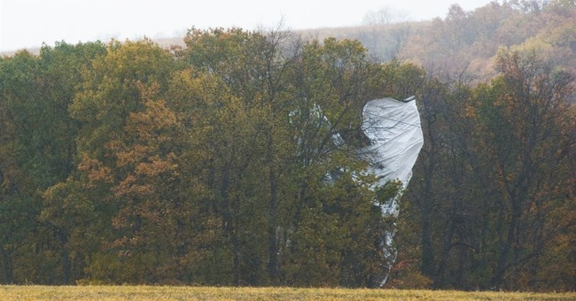 Blimp on the loose: What does it do?