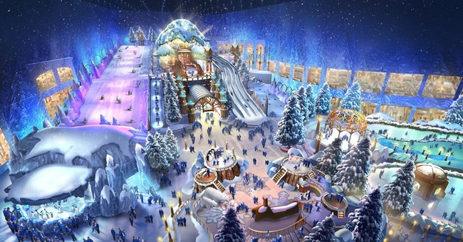 Already home to a ski hill, Emirates may get a snow park