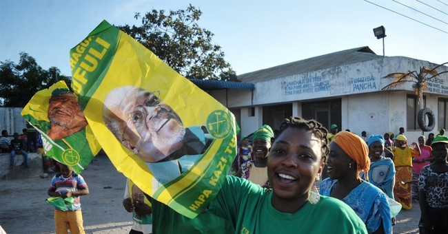 Tanzania's ruling party wins tight presidential election