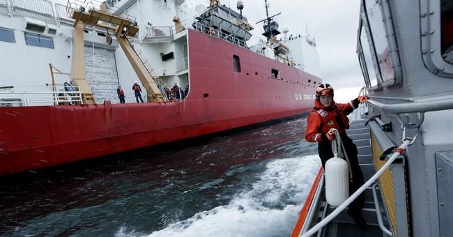 Coast Guard icebreaker back after pioneering North Pole trip